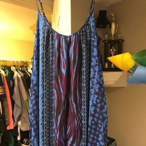 Adjustable strap dress from express